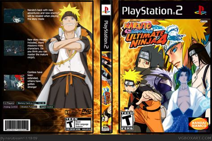 film naruto ultimate ninja 2 naruto shippuden ultimate ninja 4 playstation 2 box art