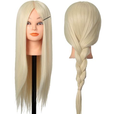 hair and makeup mannequin head hairdressing practice training head human hair mannequin