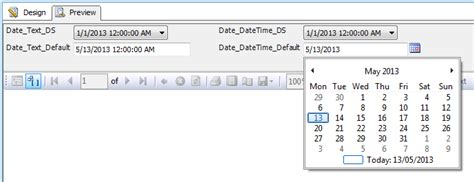 format date parameter in ssrs reporting services ssrs 2008 calendar selector stack