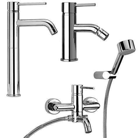 set rubinetti bagno set miscelatori rubinetteria da bagno lavabo