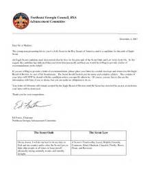 letter of recommendation for eagle scout template eagle scout letter of recommendation letter of