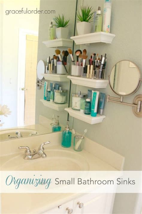 bathroom storage ideas small spaces 25 best ideas about sinks for small bathrooms on