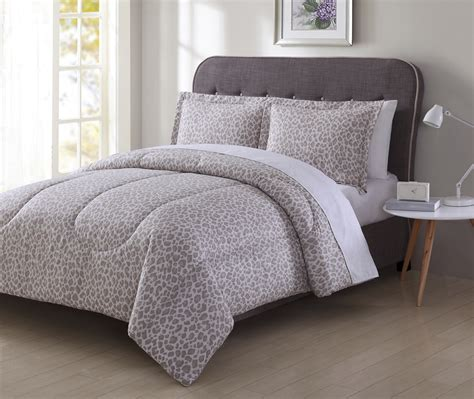 colormate microfiber comforter set leopard home bed