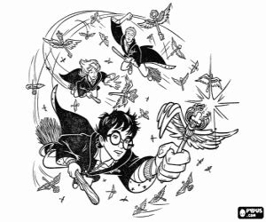 harry potter quidditch coloring pages harry potter coloring pages printable games