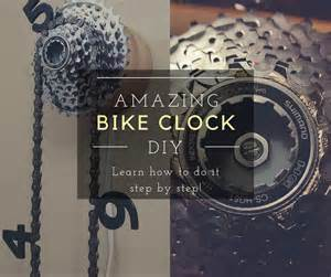 amazing bike clock diy bigdiyideas com