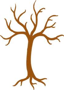Tree Outline Png by Brown Tree Outline Clip At Clker Vector Clip Royalty Free Domain