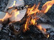 in smoke and ruins burned by magic books islamic state burns thousands of books including ancient