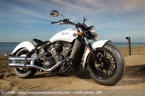 Indian Moto Scout Sixty by Essai Indian Scout Sixty