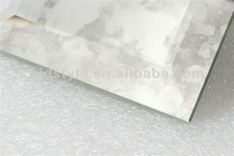 beveled edge mirror wall tiles cloudy antique mirror bevel glass tile view beveled edge