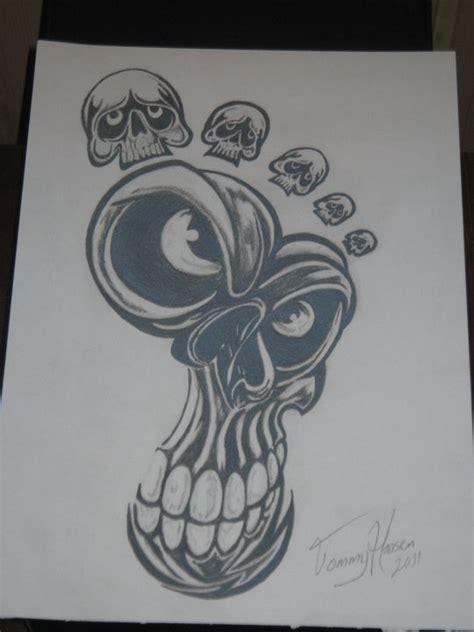 tattoo pencil sketch death foot tattoo art pencil drawing by stukyluke on