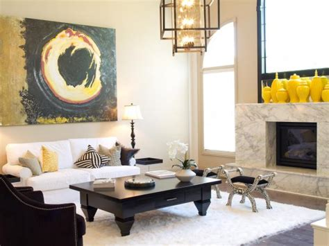 our favorite color infused living rooms living room and hshh107 mustard yellow black white living room jpg rend
