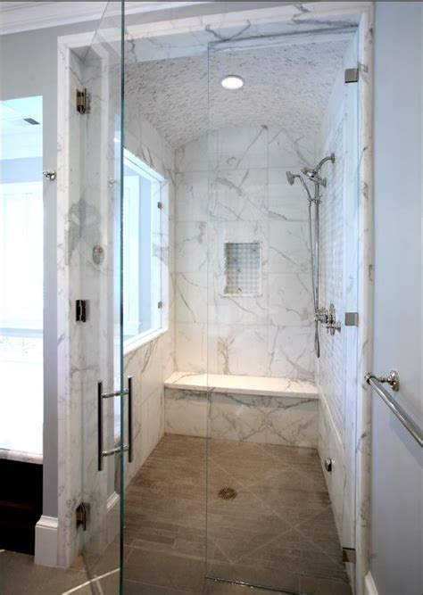 porcelain tile for bathroom shower the porcelain tile that looks like marble which offers the