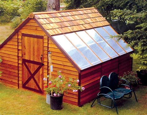 plan your greenhouse shed for space for storing