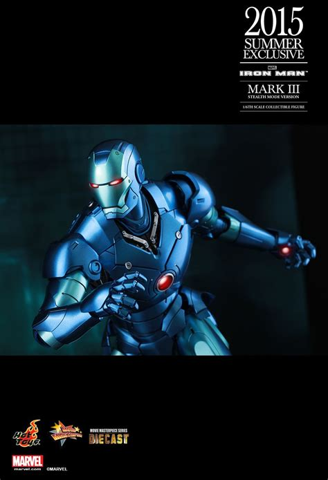 Ironman 3 Stealth Toys Exclusive Iron Iii toys ironman tony stark iii stealth mode blue