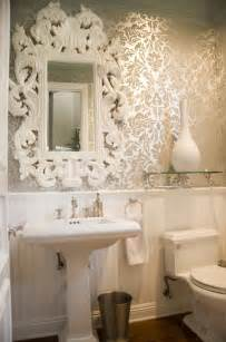 badezimmer barock white baroque mirror bathroom maison luxe home