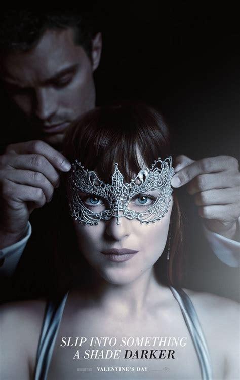 fifty shades darker uscita film 50 sfumature di nero ecco un primo teaser e il poster