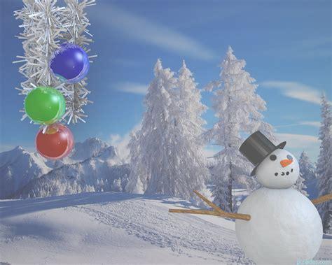 imagenes navidad nieve fondos de escritorio navidad 2011 vii bonhomme de