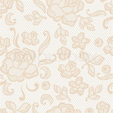 Beautiful Wallpaper Design For Home Decor Vintage Lace Background Ornamental Flowers Vector Texture