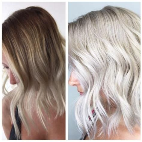 Toner Makeover makeover going platinum career wella t18 redken shades and hair painting