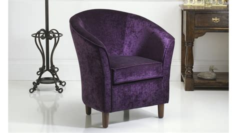 Purple Chair Uk by Purple Tub Chair Russkell Furniture