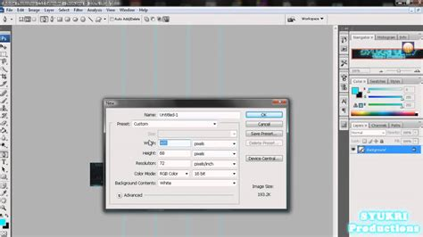 tutorial photoshop cs3 banner how to make facebook banner header with photoshop youtube