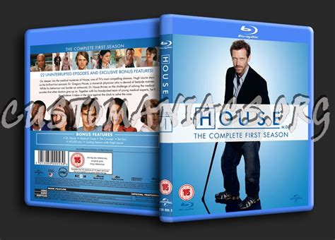 house md season 1 forum tv show scanned blu ray covers page 16 dvd covers labels by customaniacs