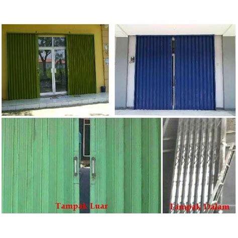 Jual Kolam Terpal Tegal jual folding gate bandung oleh cv agis jaya steel di