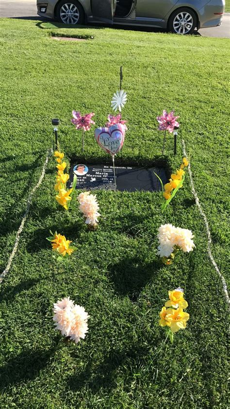 17 best ideas about cemetery decorations on