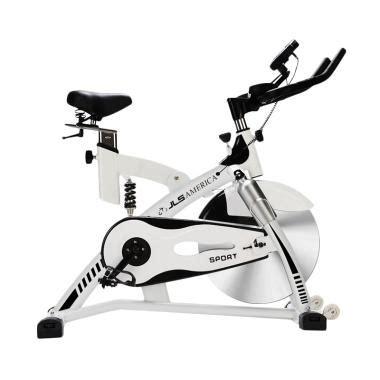 Spinning Bike Kuning Total Fitnes jual total fitness tl 8805a spinning bike sport putih harga kualitas terjamin