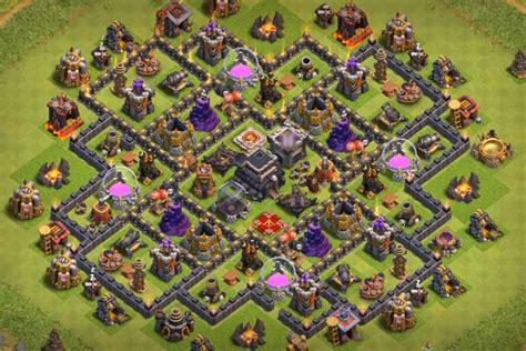 best th9 hybrid base 2016 15 epic town hall 9 war base anti 3 star 2017 bomb