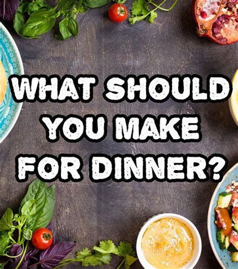 which tasty recipe should you make for dinner tonight