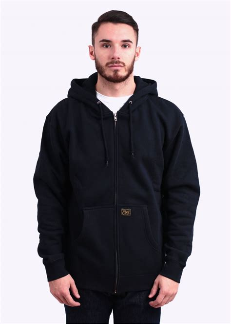 Hoodiezipper Obey obey jones zip hoody navy