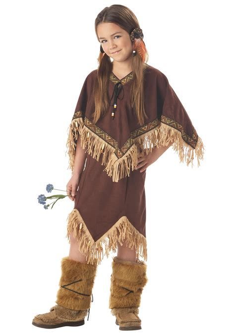 Kids Native Princess Costume Native American Costumes American Princess