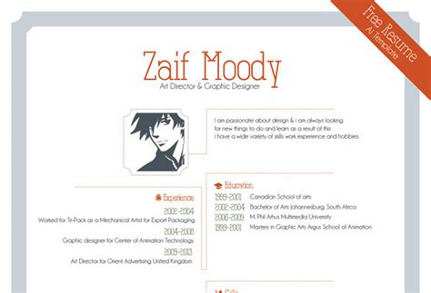 bio exles for graphic designer neat and engaging free resume templates ewebdesign