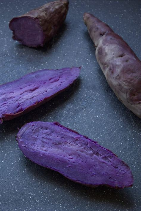 how to cook purple yam in the oven purple sweet potato pie with a gingerbread crust and pecan streusel foodie