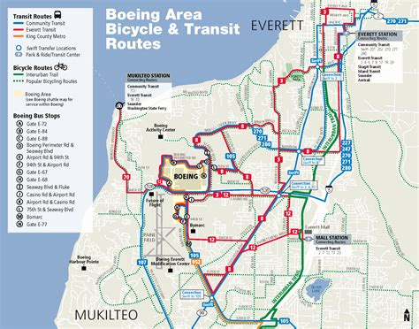 Map Of Boeing Locations Map by Going To Boeing Everett Everett Transit Wa Official