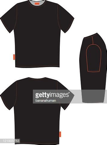 Tshirt Black Id black t shirt side view artee shirt
