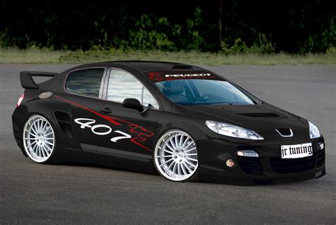 peugeot 407 coupe tuning peugeot 407 tuning image 121