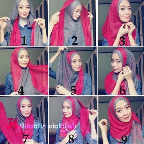 kumpulan tutorial hijab turban 36 best hijab tutorial tutorial hijab modern images on