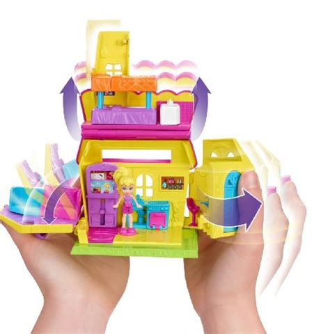 polly pocket mini haus polly pocket pollyville neighborhood polly s house playset