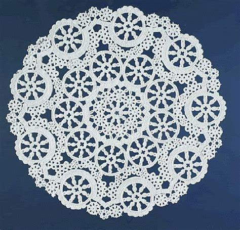 Paper Doilies - pin paper lace doilies on