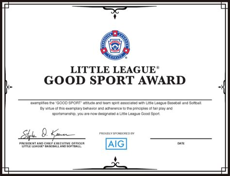 baseball certificate templates download free premium