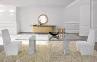 Round Glass Top Dining Tables » Home Design 2017