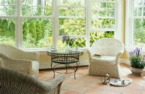 try cane furniture for your conservatories