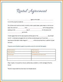 lease agreement template word free 5 rental lease agreement template word teknoswitch