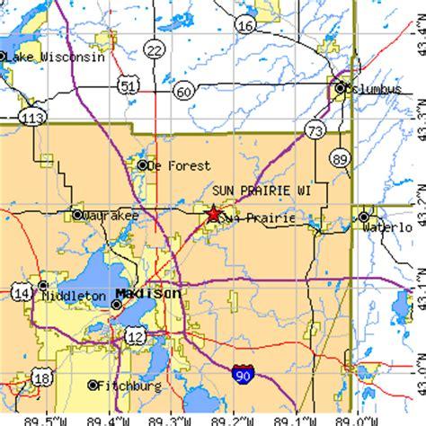 Cottage Grove Wisconsin Zip Code by Sun Prairie Wisconsin Wi Population Data Races