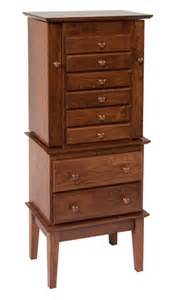 shaker jewelry armoire town country furniture
