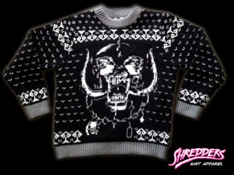 metallica xmas jumper a journal of musical thingshow about an ugly motorhead