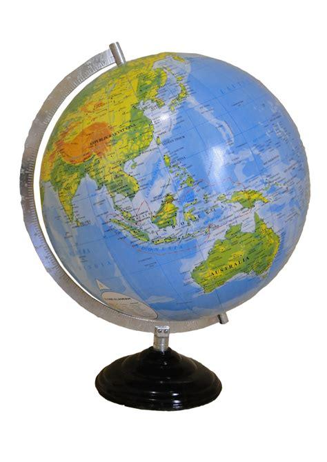 Bola Dunia 18 2 Cm Bola Globe Meja alat praga globe ukuran 30cm frame besi primajaya