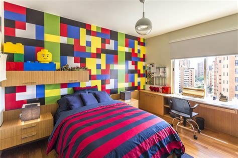 Lego Bedroom by Hobby Influences Interior Project For In